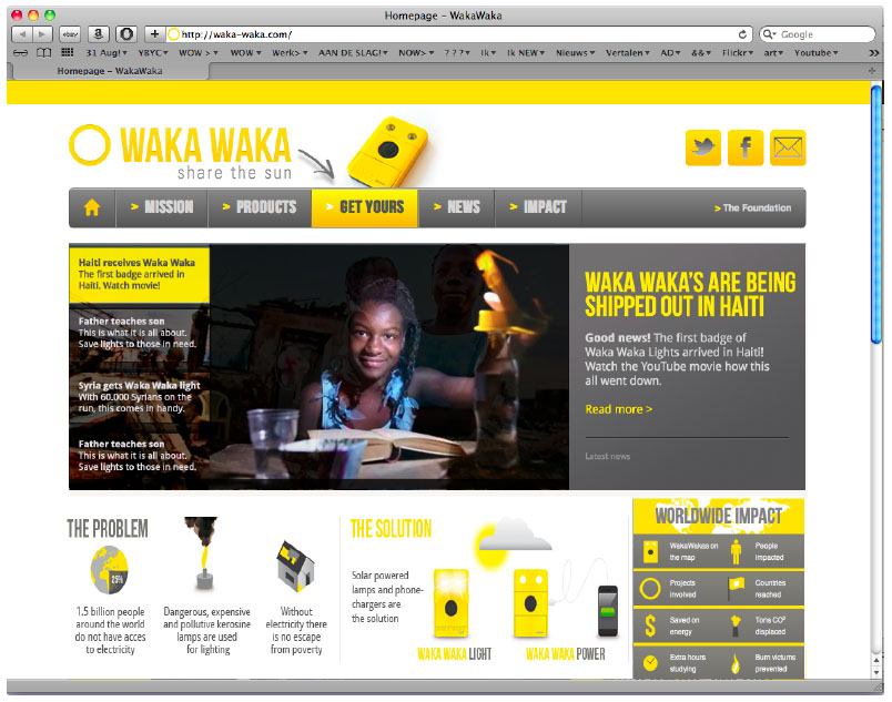 Waka website