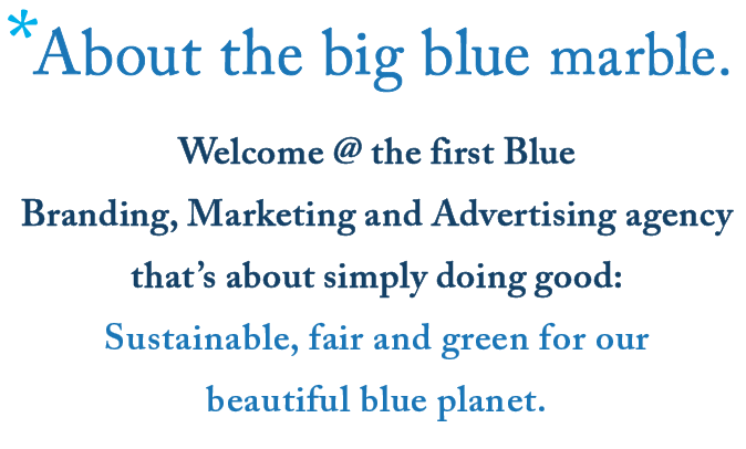 Welcome @ About the Big Blue Marble